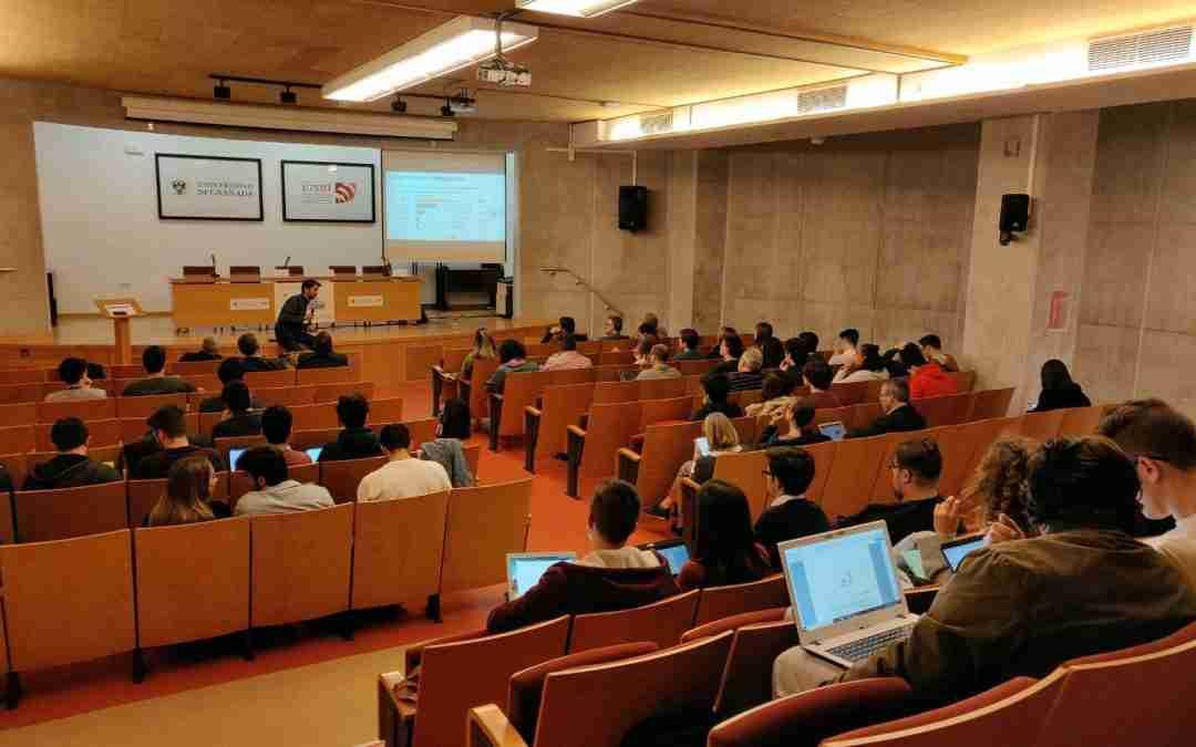 Ponencia en la II Jornada de Ingeniería de Telecomunicación