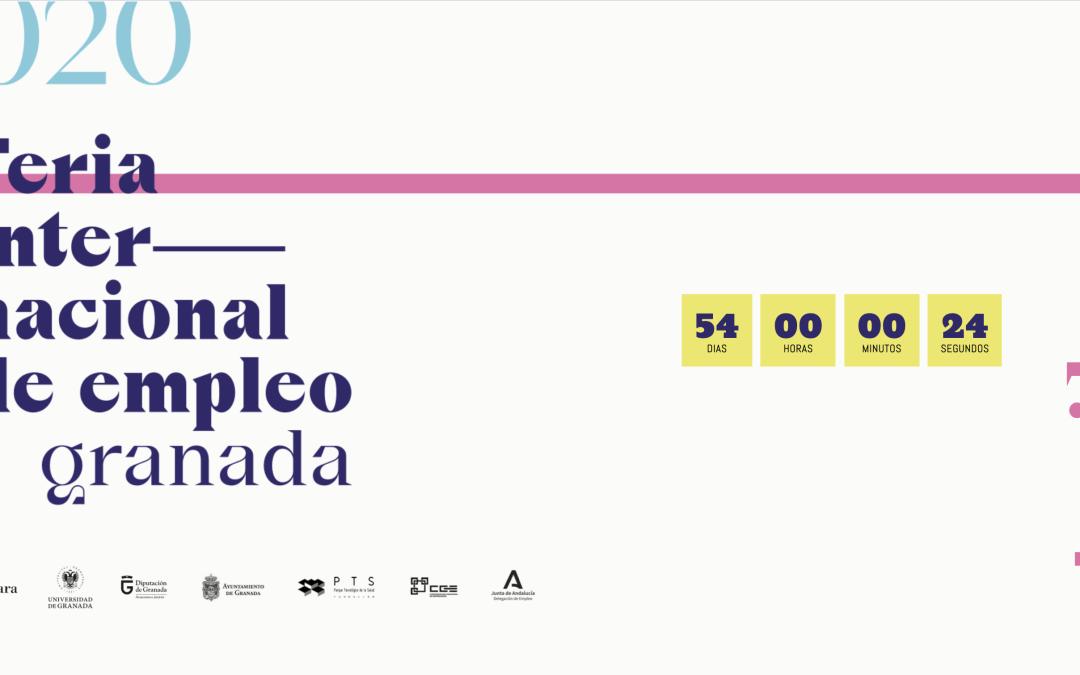 La Feria Internacional de Empleo de Granada se celebrará los días 21 y 22 de abril en el Palacio de Congresos.