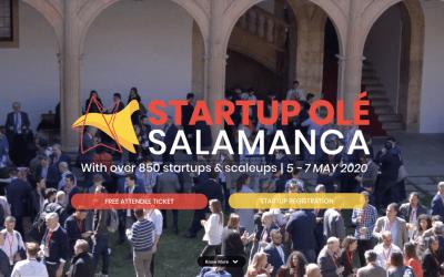 Una nueva edición de Startup Olé 2020 pretende convertir a Salamanca en un referente en el emprendimiento y desarrollo de Startups en Europa.